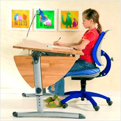 Как обустроить рабочее место ребенка